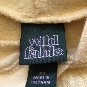wild fable Tops - Women's XS pastel yellow Wild Fable Sweatshirt